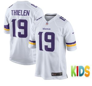 Camisa Infantil Minnesota Vikings Nfl Futebol Americano #19 Thielen