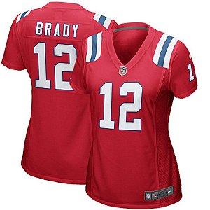 Camisa Feminina Green Bay Packers Nfl Futebol Americano #12 Tom Brady