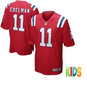 Camisa Nfl Futebol Americano New England Patriots #11 Eldeman