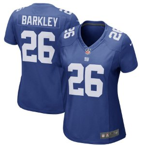 Camisa Feminina Nfl Futebol Americano New York Giants #26 Barkley