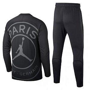Agasalho Oficial Paris Saint Germain Psg Air Jordan 2018/2019 Frete Grátis