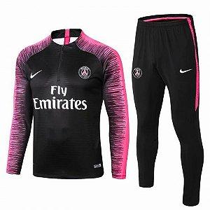 Agasalho de Treino Oficial Paris Saint Germain Psg 2018/2019 Frete Grátis