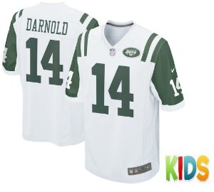 Camisa Infantil  Nfl Futebol Americano New York Jets #14 Darnold