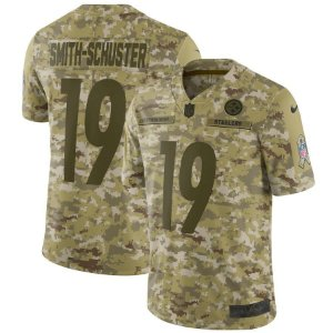 Camisa Nfl Futebol Americano Pittsburgh Steelers #19 Smith-Schuster