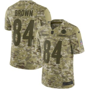Camisa Infantil Nfl Futebol Americano Pittsburgh Steelers  84 Brown ... bf767c6e341