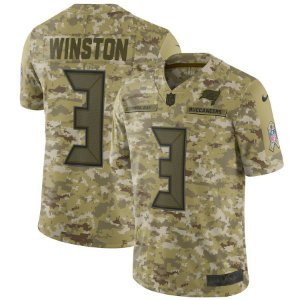 Camisa Nfl Futebol AmericanoTampa Bay Buccaneers #3 Winston
