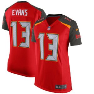 Camisa Feminina Nfl Futebol Americano Tampa Bay Buccaneers #13 Evans