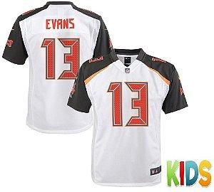 Camisa Infantil Nfl Futebol Americano Tampa Bay Buccaneers #13 Evans