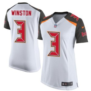 Camisa Feminina Nfl Futebol Americano Tampa Bay Buccaneers #3 Winston