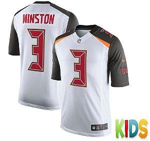 Camisa Infantil Nfl Futebol Americano Tampa Bay Buccaneers #3 Winston