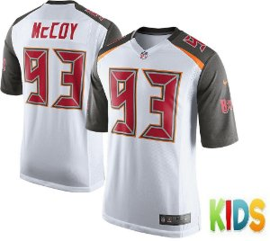 Camisa Infantil Nfl Futebol Americano Tampa Bay Buccaneers #93 McCoy