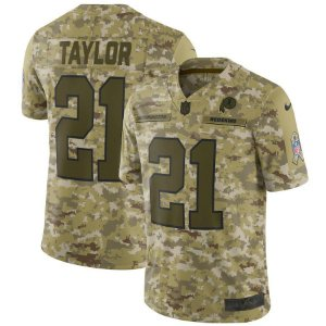 Camisa Nfl Futebol Americano Washington Redskins #21 Taylor