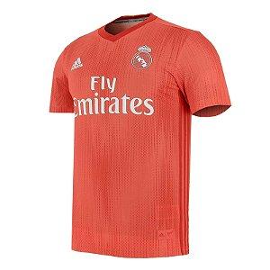 Camisa Real Madrid Third 2018/2019 Personalização e Frete Grátis