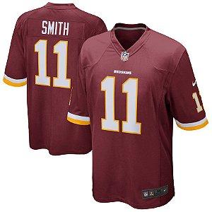 Camisa Nfl Futebol Americano Washington Redskins #11 Smith