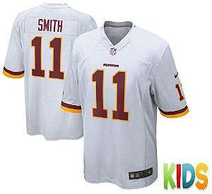 Camisa Infantil Nfl Futebol Americano Washington Redskins #11 Smith