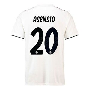 Camisa Real Madrid Home 2018/2019 #20 Asensio Frete Grátis