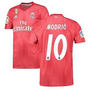Camisa Real Madrid Third 2018/2019 #10 Modric Frete Grátis