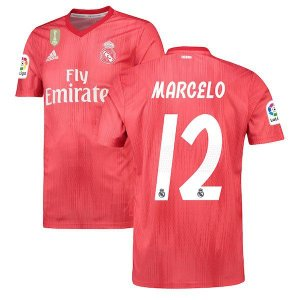 Camisa Real Madrid third 2018/2019 #12 Marcelo Frete Grátis