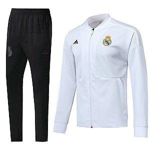 Agasalho Oficial Real Madrid 2018/2019 Frete Grátis