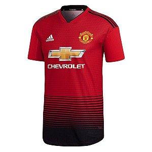 113ad70c8 Camisa Manchester United Player Home 2018 2019 Personalização e Frete Grátis