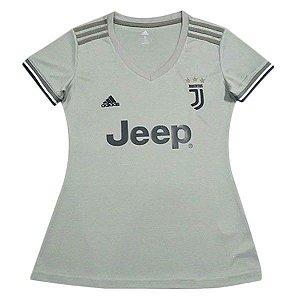Camisa Feminina Juventus Away 2018/2019 Personalização e Frete Grátis