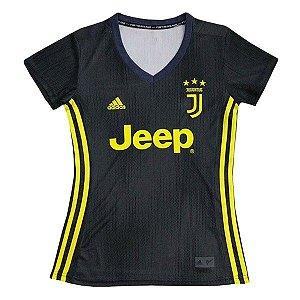 Camisa Feminina Juventus Third 2018/2019 Personalização e Frete Grátis