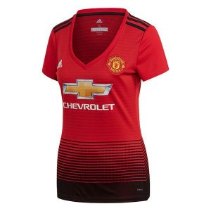 Camisa Manchester United Feminina Home 2018 2019 - Personalização e Frete Grátis