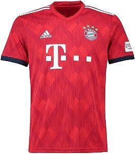Camisa Bayern Munique Home 2018/2019 - Personalização e Frete Grátis