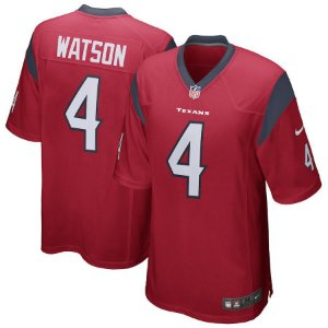 Camisa Nfl Houston Texans 3 Futebol Americano #4 Watson