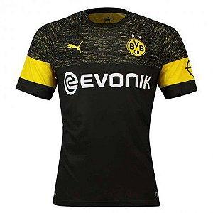 Camisa Borussia Dortmund Feminina Away 2018/2019 Personalização e Frete Grátis