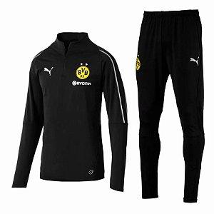 Agasalho de Treino Oficial Borussia Dortmund 2018/2019 Frete Grátis