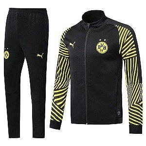 Agasalho Oficial Borussia Dortmund 2018/2019 Frete Grátis