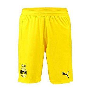 Calção Oficial Borussia Dortmund 2018/2019 2 Frete Grátis
