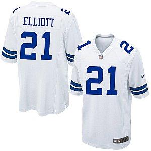 Camisa Nfl Dallas Cowboys 2 Futebol Americano #21Elliott