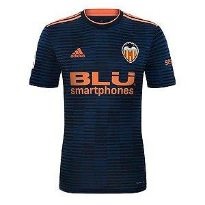 Camisa Valencia Away 2018/2019 Personalização e Frete Grátis
