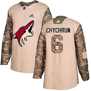 Camisa Jersey Nhl Arizona Coyotes Hockey #6 Chychrun