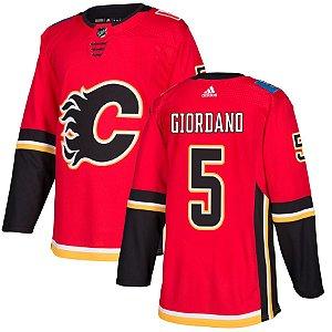 Camisa Jersey Nhl Calgary Flames Hockey #5 Giordano