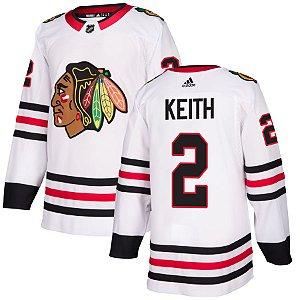 Camisa Jersey Nhl Chicago Blackhawks Hockey #2 Keith