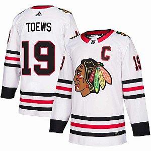Camisa Jersey Nhl Chicago Blackhawks Hockey #19 Toews