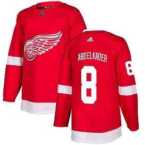 Camisa Jersey Nhl Detroit Red Wings 2 Hockey #8 Abdelkader