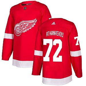 Camisa Jersey Nhl Detroit Red Wings 1 Hockey #72 Athanasiou