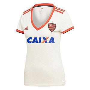 Camisa Feminina Flamengo Away 2018/2019 Personalização e Frete Grátis