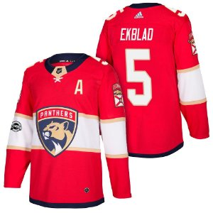 Camisa Jersey Nhl Florida Panthers 1 Hockey #5 Ekblad