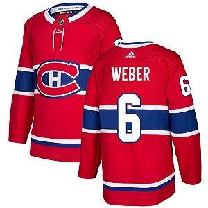 Camisa Jersey Nhl Montreal Canadiens 1 Hockey #6 Weber