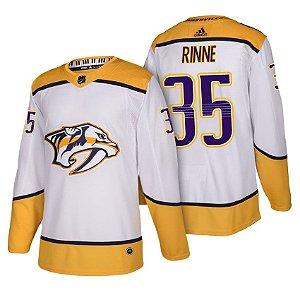 Camisa Jersey Nhl Nashville Predators 2 Hockey #35 Rinne
