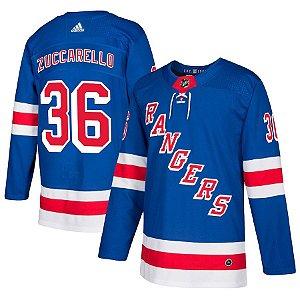 Camisa Jersey Nhl New York Rangers 1 Hockey #36 Zuccarel