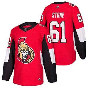 Camisa Jersey Nhl Ottawa Senators 2 Hockey #61 Stone