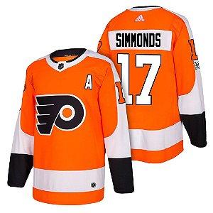 Camisa Jersey Nhl Philadelphia Flyers 2 Hockey #17 Simmonds
