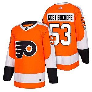 Camisa Nhl Philadelphia Flyers 2 Hockey #53 Gostisbehere