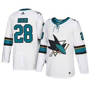Camisa Nhl San Jose Sharks 2 Hockey #28 Meier